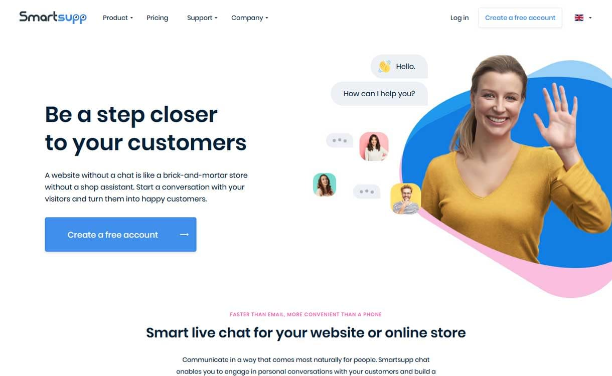Smartsupp - Best Live ChatBox Software
