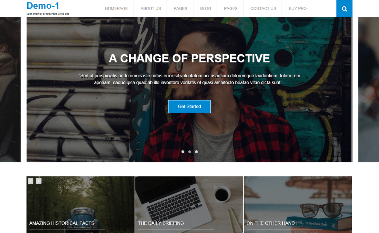 bloggerbuz best free wordpress blog themes - 30+ Best Free WordPress Personal/Professional Blog Themes for 2019