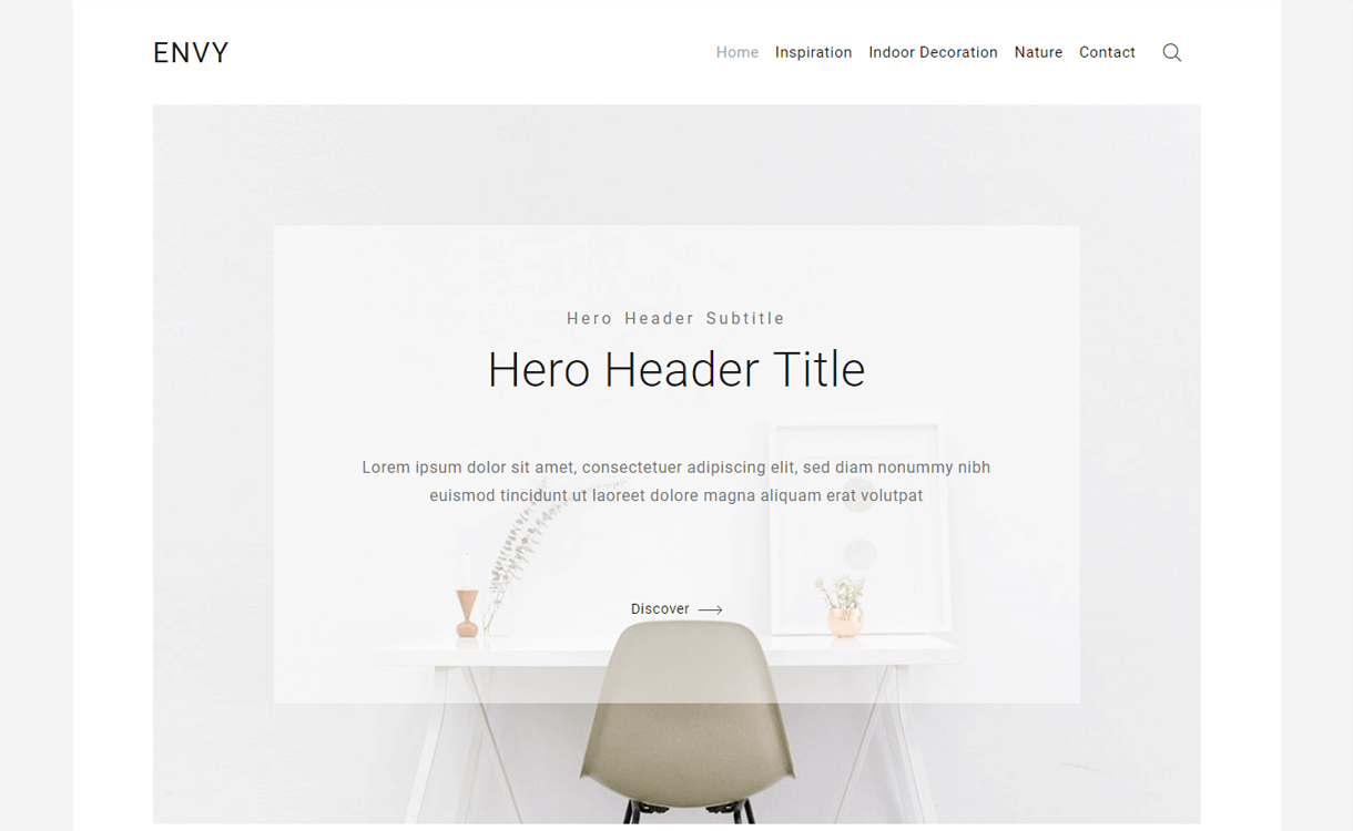envy blog best free wordpress blog themes - 30+ Best Free WordPress Personal/Professional Blog Themes for 2019