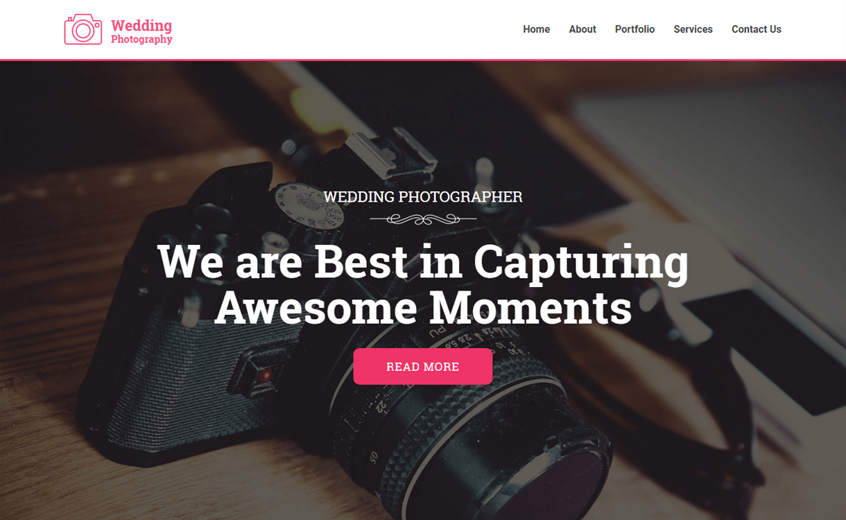 wedding photography best free photography wordpress themes - 30+ Best Free WordPress Photography Themes for 2019