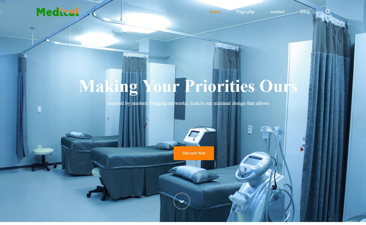 medical life best free medical wordpress themes - 23+ Best Free WordPress Health and Medical Themes 2019