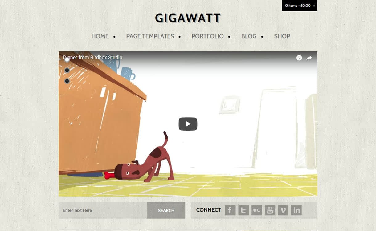 GigaWatt - Best WordPress Video Theme