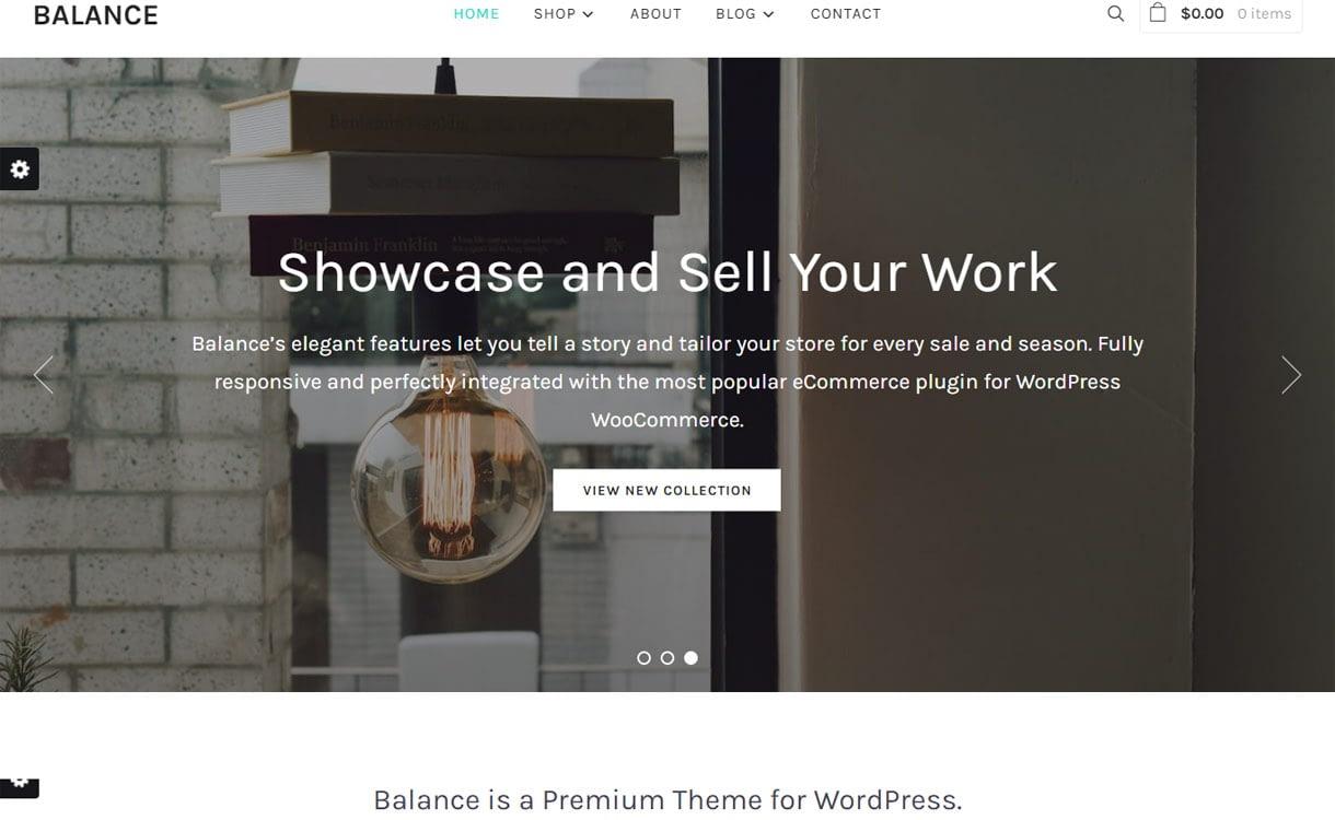 Balance - Premium Business/Agency WordPress Theme for 2017