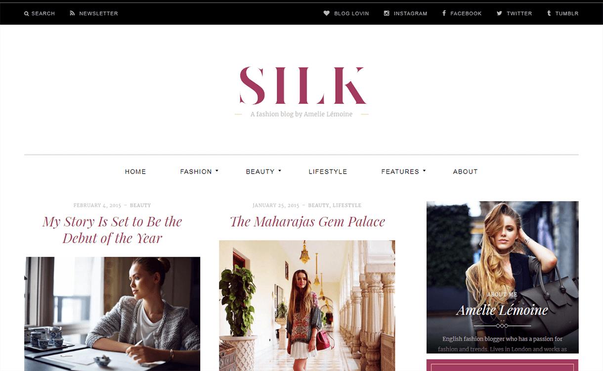 Silk Lite-Free Magazine WordPress Theme