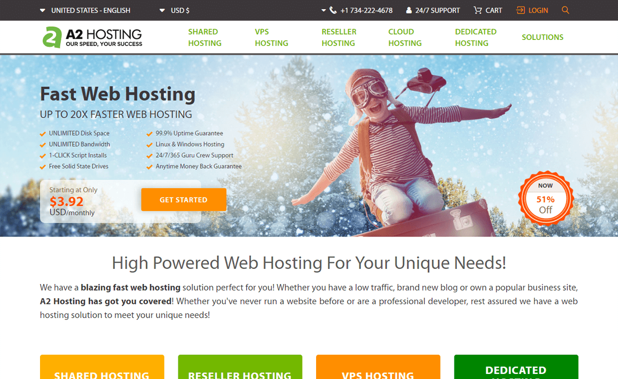 A2Hosting-Best WordPress Hosting Services