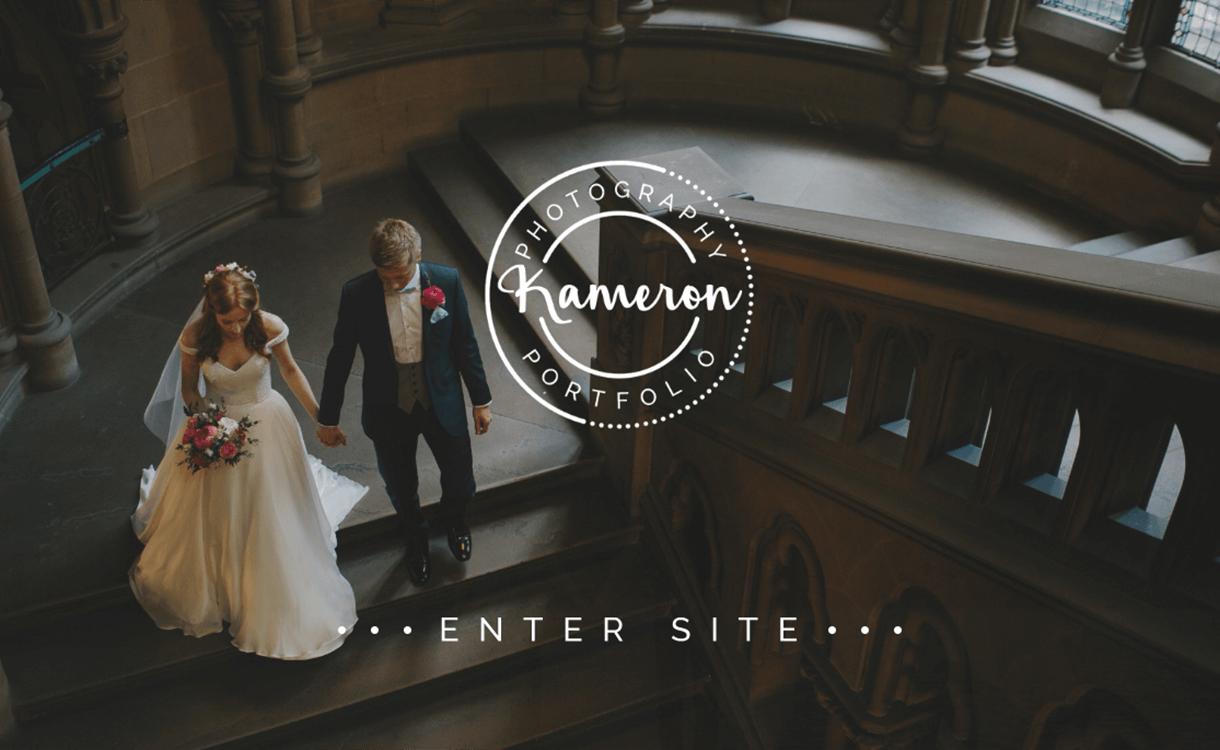 Kameron - 30+ Best Premium WordPress Photography Themes 2019