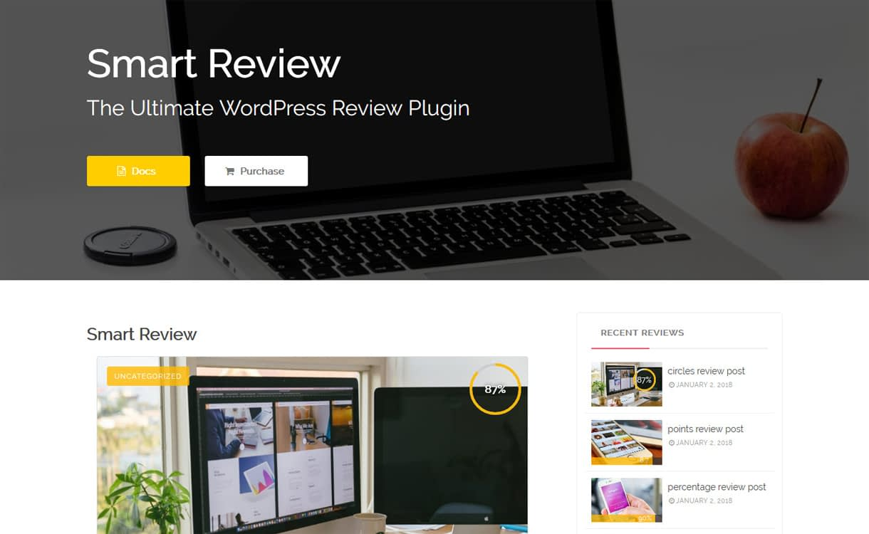 smart review ultimate wordpress post page review plugins - 5+ Best WordPress Page/Post Review Plugins