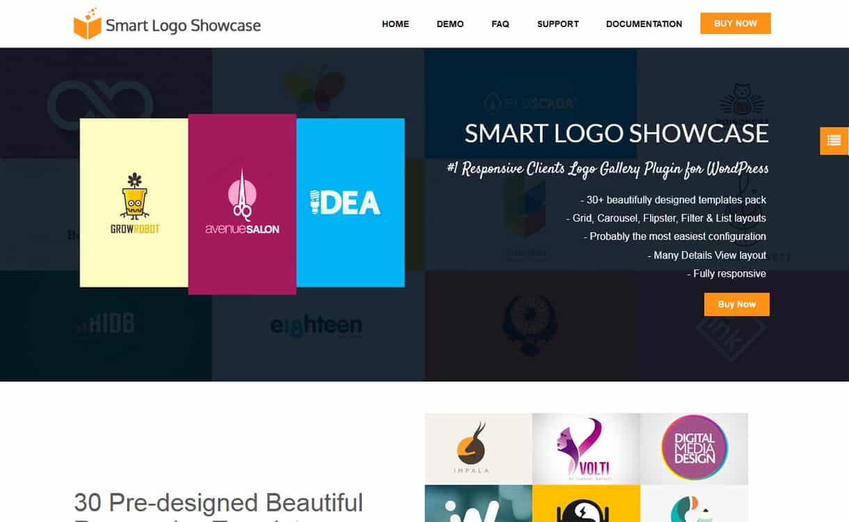 Smart Logo Showcase - WordPress Clients Logo Showcase Plugins