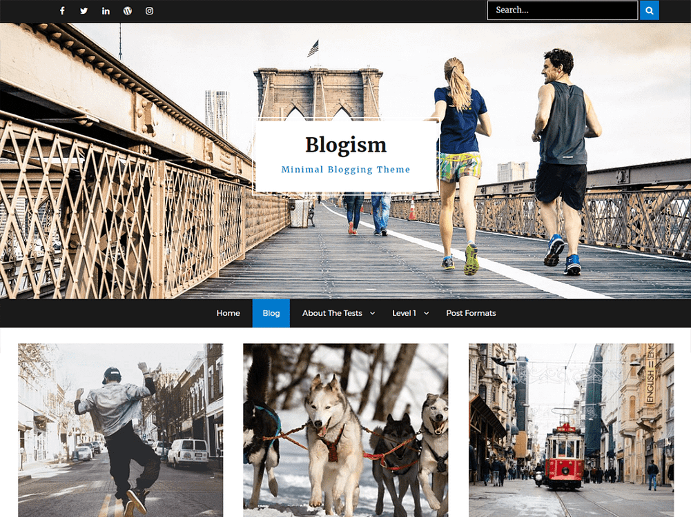 Blogism - 30+ Best Free WordPress Personal/Professional Blog Themes for 2019