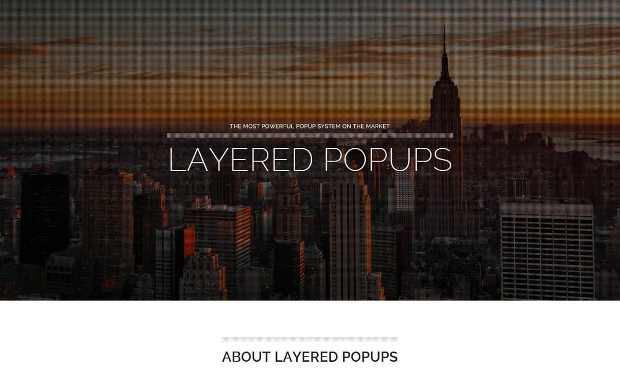 layered popups - 5+ Best WordPress Popup Plugins 2019