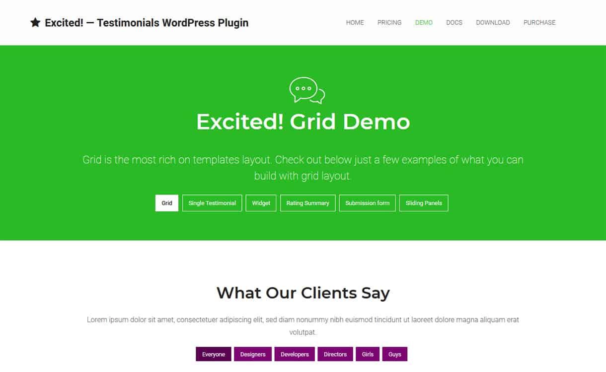 Testimonials Showcase for WordPress - WordPress Testimonial Plugins