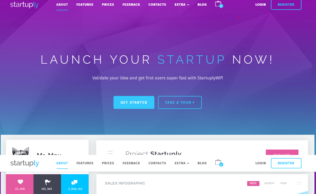 Startuply - Best Coming Soon and Under Maintenance WordPress Themes and Templates
