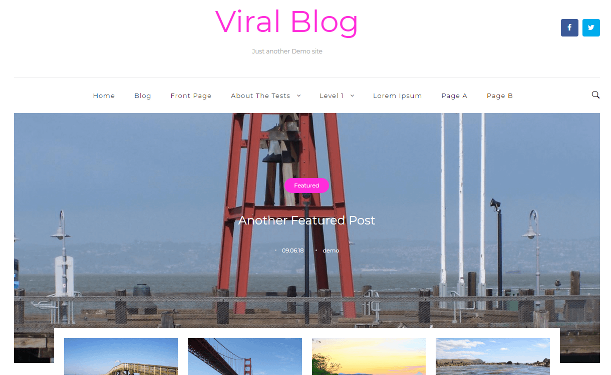 viral blog best free wordpress themes august - 25+ Best Free WordPress Themes August 2018
