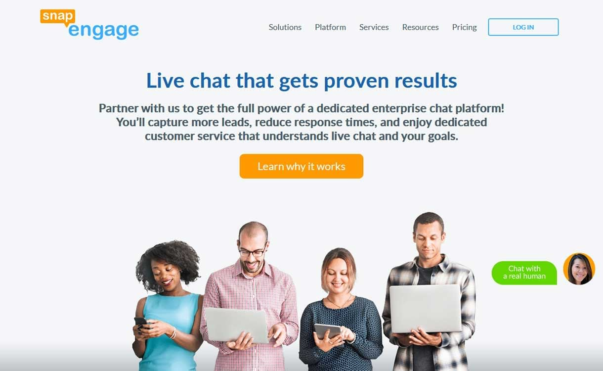 SnapEngage - Best Live ChatBox Software