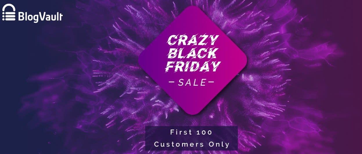 BlogVault - Black Friday Deal 2019