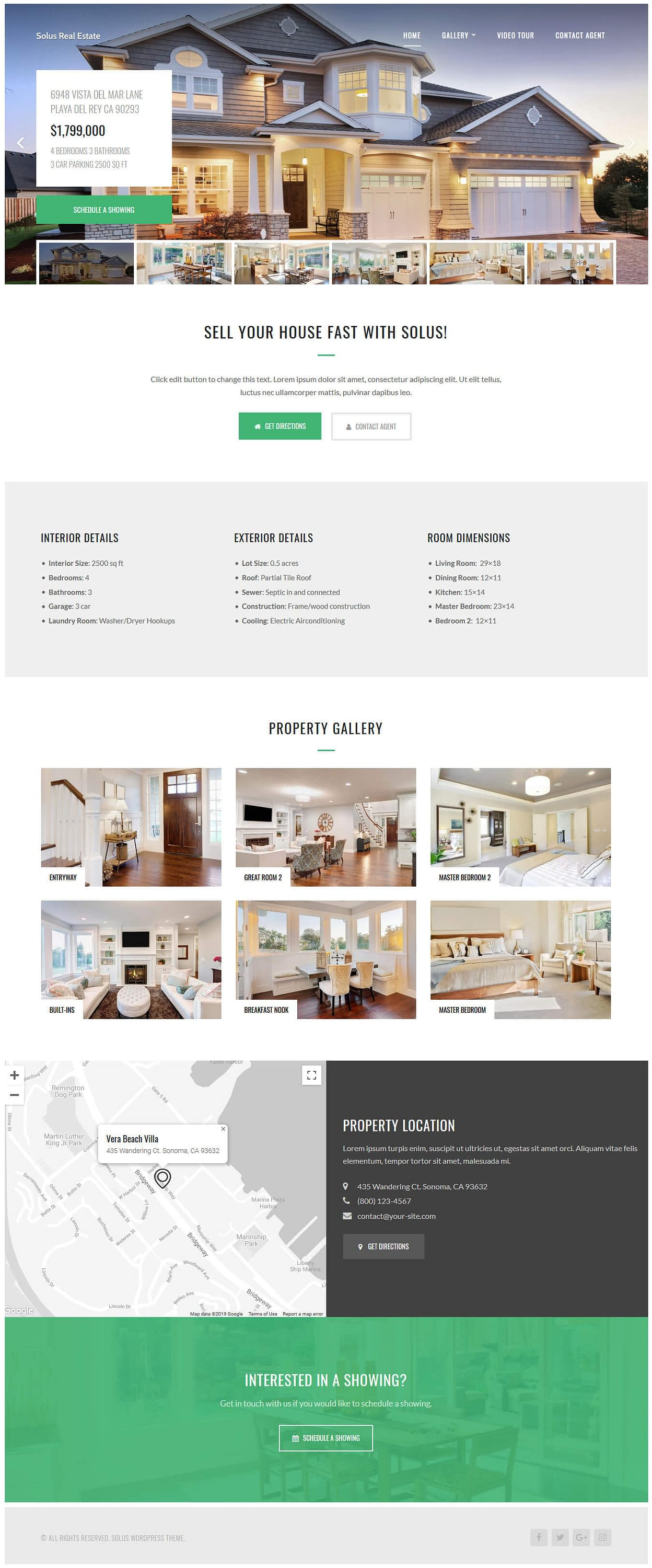 Solus - Best Premium Home Rental and Property WordPress Theme