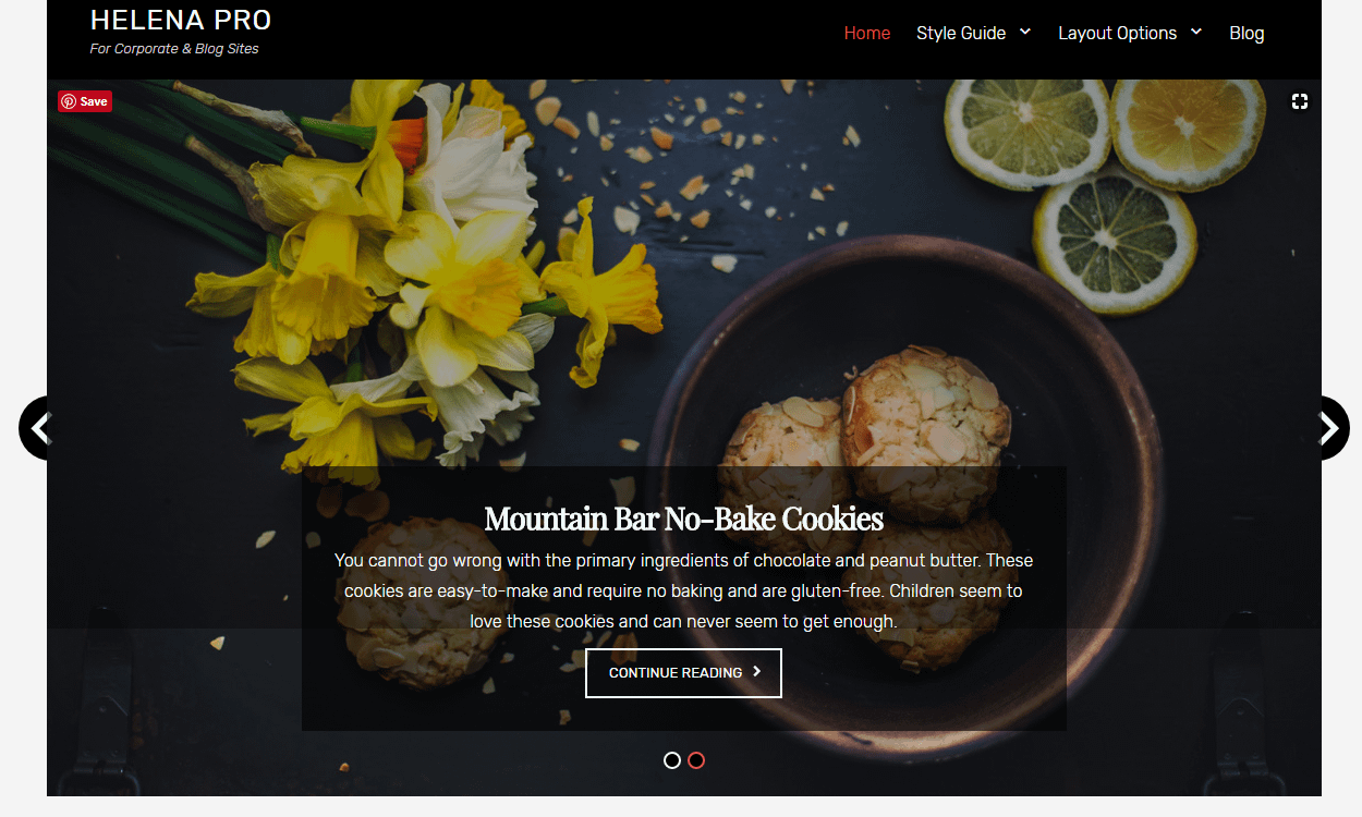 helena - 30+ Best Free WordPress Personal/Professional Blog Themes for 2019