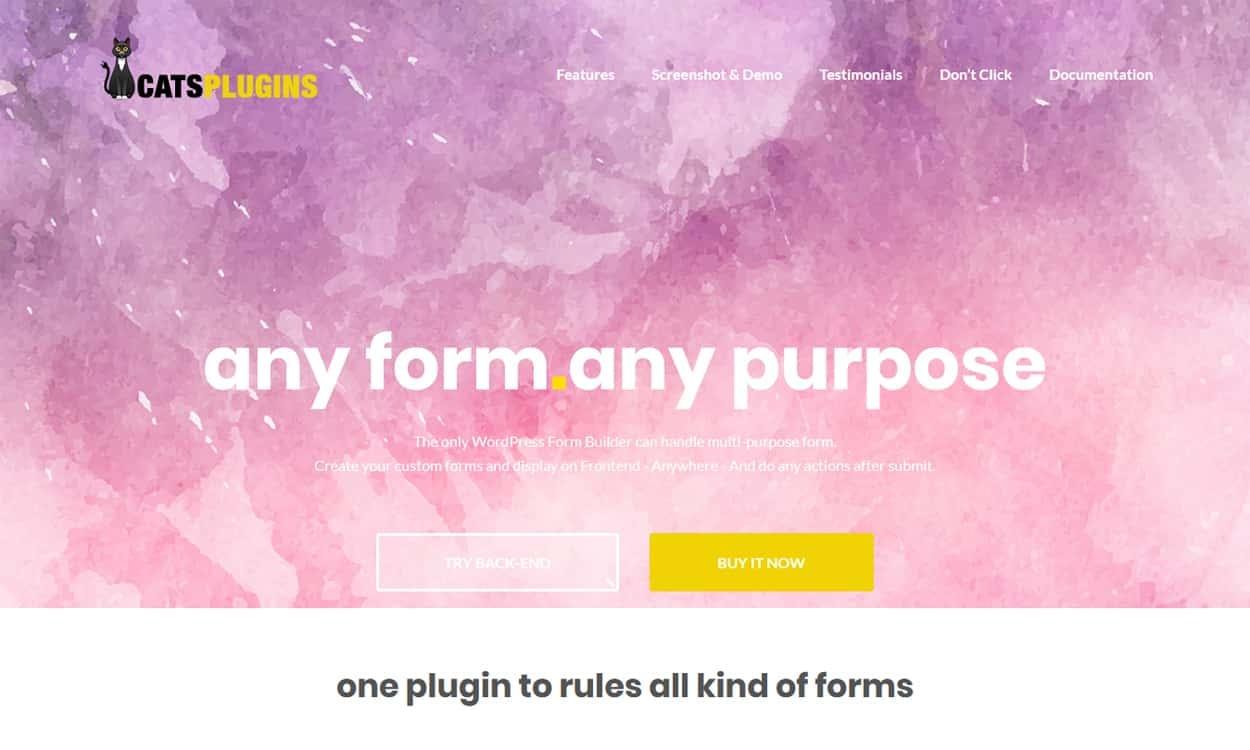 Frontend Submit Pro - Best Premium WordPress Frontend Post Submission Plugins
