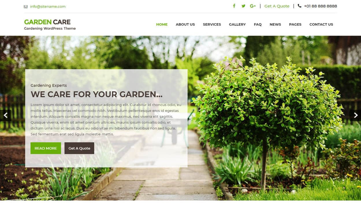 greenhouse - 25+ Best Free WordPress Themes August 2018