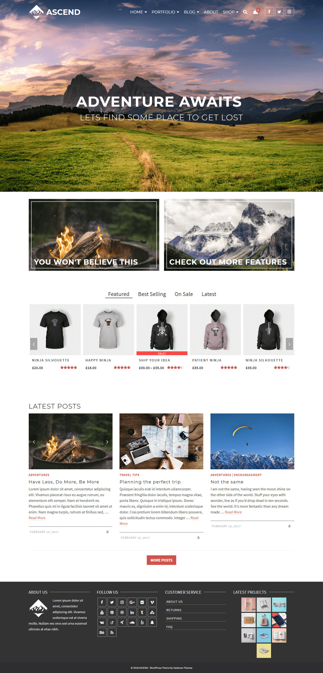 Ascend - Best Free Multipurpose WordPress Theme