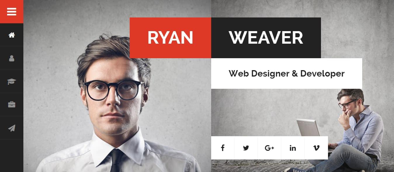 Divergent - Best Premium Resume WordPress Theme