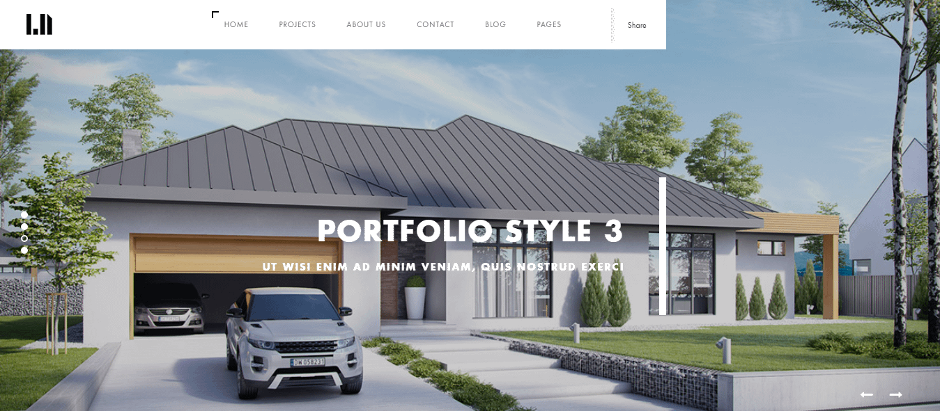 domik best premium architecture wordpress theme - 10+ Best Premium Architecture WordPress Themes