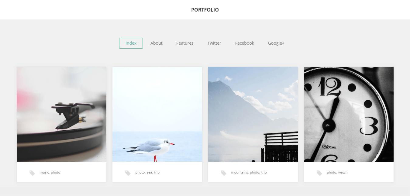 GK Portfolio-Free WordPress Portfolio Themes