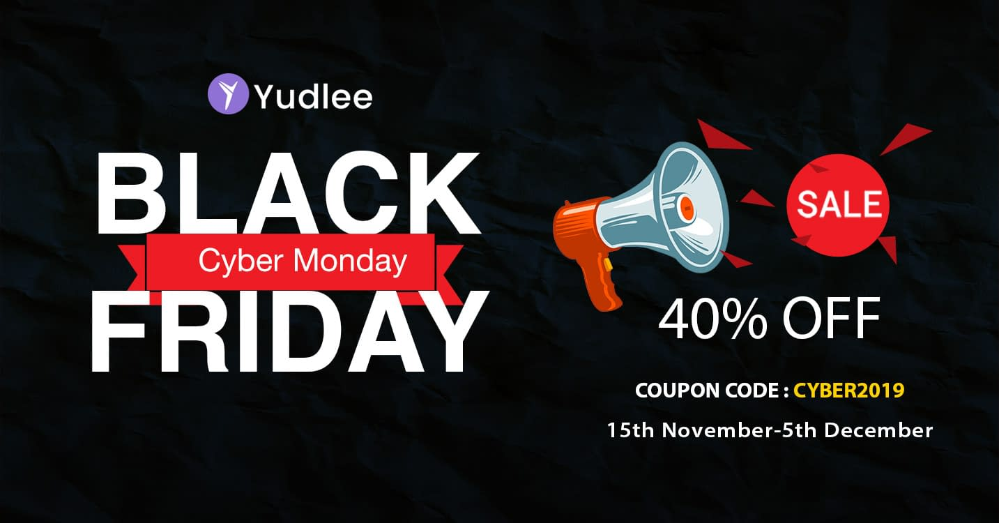 Yudlee Themes - Black Friday Cyber Monday Deal