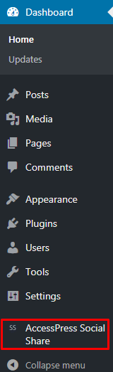 Add social share button