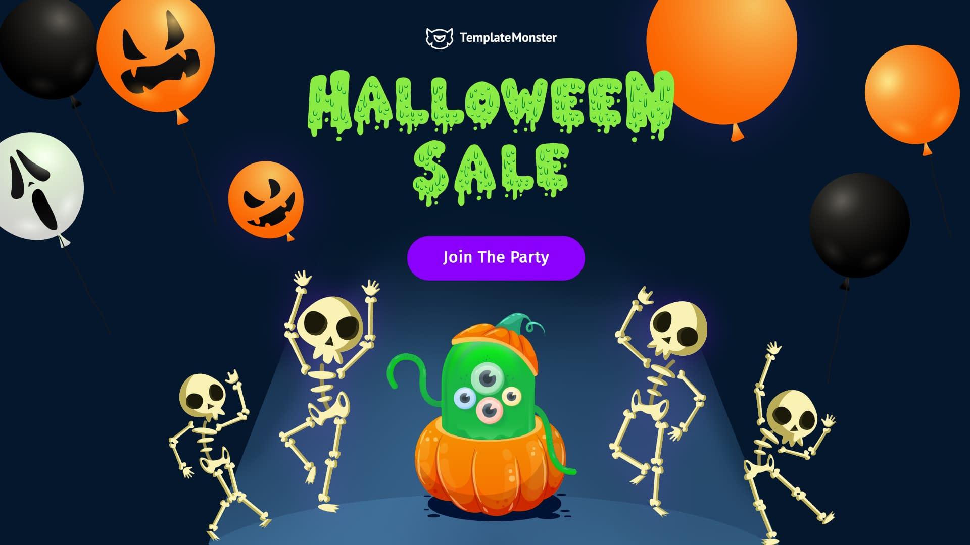 TemplateMonster- WordPress Halloween Deals and Discounts