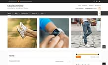 Clean Commerce - Modern eCommerce WordPress Theme