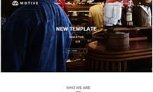Motive - Premium Portfolio WordPress Theme
