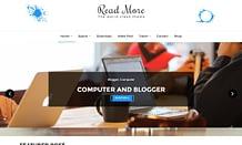 Read More - Free WordPress Blog Theme