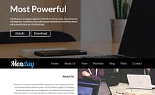 the-Monday-free-WordPress-theme