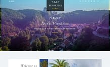 Resortica Lite - Free Hotel/ Resort WordPress Theme