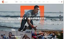 Aslan - Modern Gym & Fitness WordPress Theme