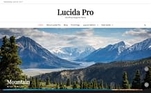 Lucida Pro - Responsive Magazine WordPress Theme