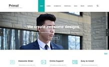Primal – Stylish Multipurpose WordPress Theme