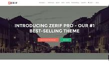 Zerif Pro - Premium One Page Business WordPress Theme