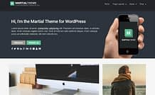 martial-free-WordPress-theme