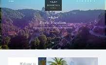 Resortica Lite - Free Hotel/ Resort WordPress Theme