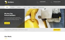 Builders - Premium Construction WordPress Theme