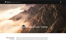 Byline - Free Magazine WordPress Theme o