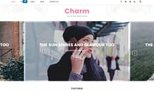 Charm - Premium Blogging WordPress Theme