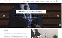 Codepress Corporate - Free Multipurpose WordPress Theme