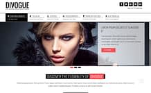 Divogue - Stylish WordPress Blog Theme