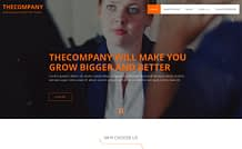 The Company- Free Business WordPress Theme