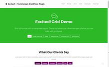 Excited - Premium Multipurpose WordPress Plugin