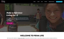 Pena Lite - Free Charity WordPress Theme