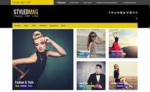 Styled Mag – Free Magazine WordPress Theme